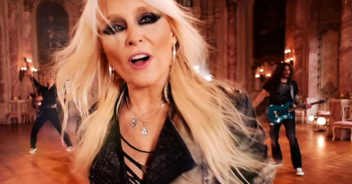 Doro y el vídeo de 'Love's Gone To Hell'