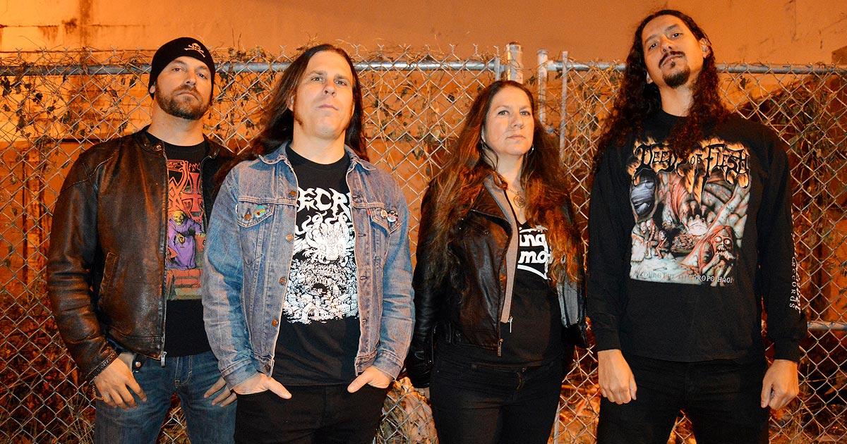 Gruesome anuncian un nuevo EP, 'Dimensions Of Horror', y ofrecen un adelanto