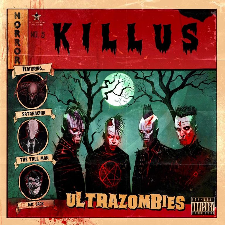 Killus 'Ultrazombies', crítica y portada