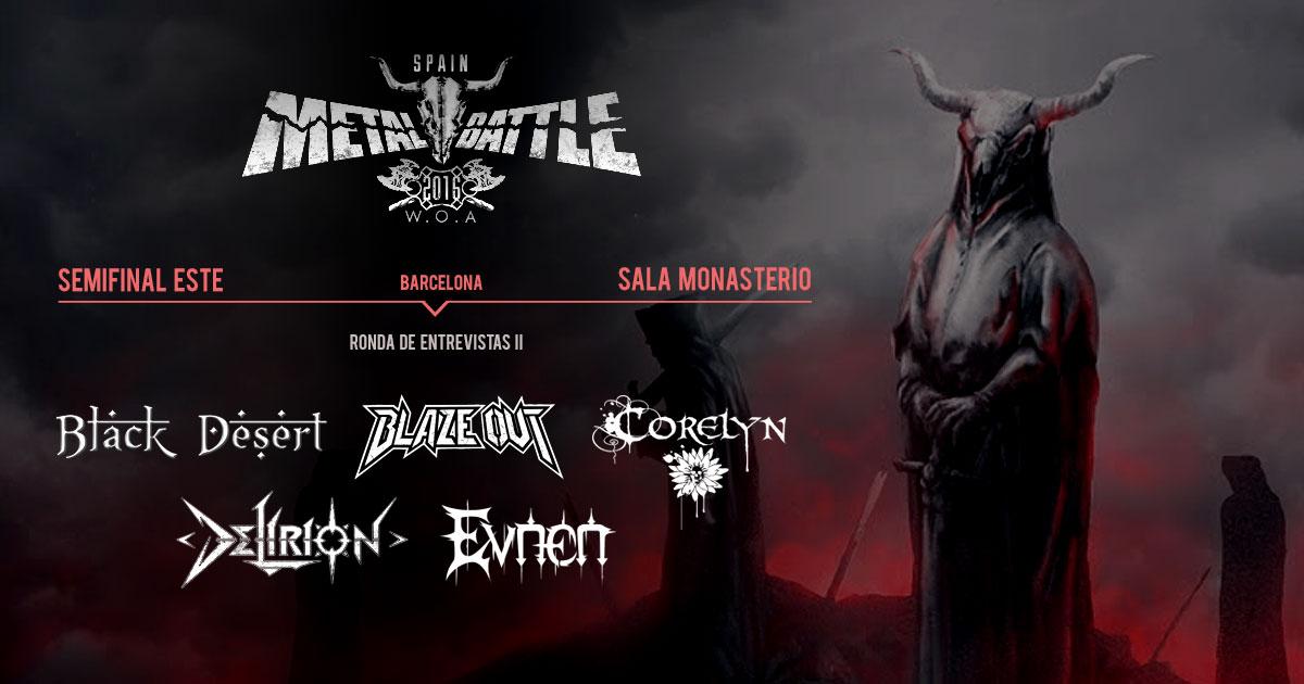 Semifinal Este Metal Battle Spain: Ronda de entrevistas II