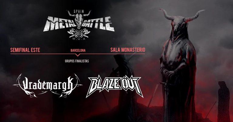 Vrademargk y Blaze Out son los terceros finalistas de la WOA Metal Battle Spain
