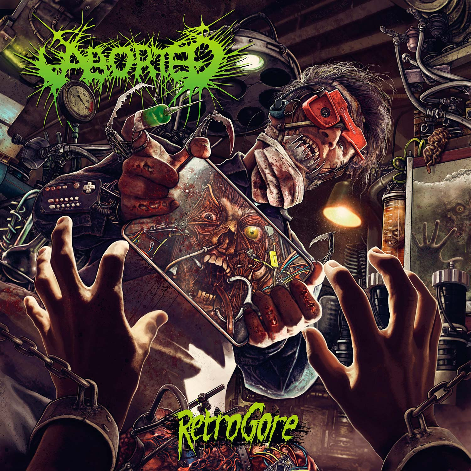 Aborted 'Retrogore'