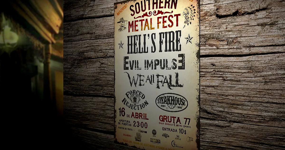 Este sábado: 'Southern Metal Fest' en Madrid