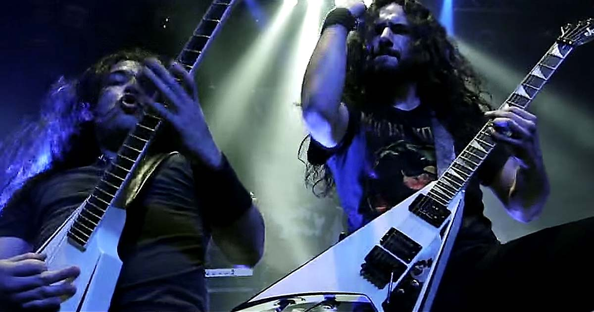 Exmortus y el vídeo de 'Let Us Roam'