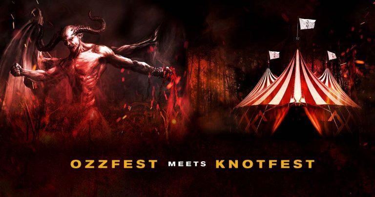 El Ozzfest y el Knotfest se unen y crean la madre de todos los festivales
