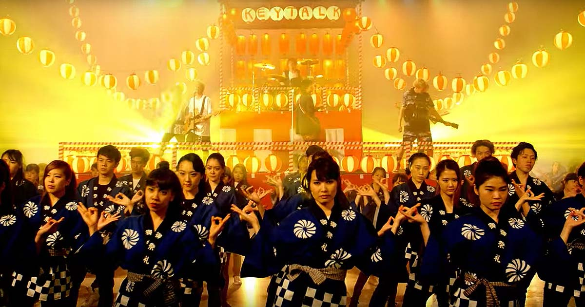 Keytalk y el vídeo de 'Matsuri Bayashi'