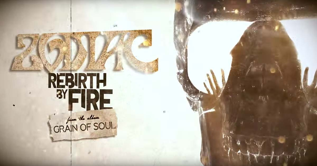 Zodiac estrenan 'Rebirth By Fire' en lyric video