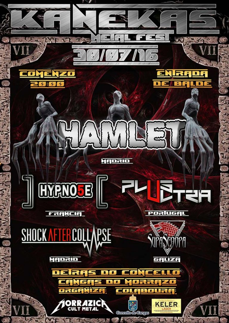 Cartel y detalles del Kanekas Metal Fest