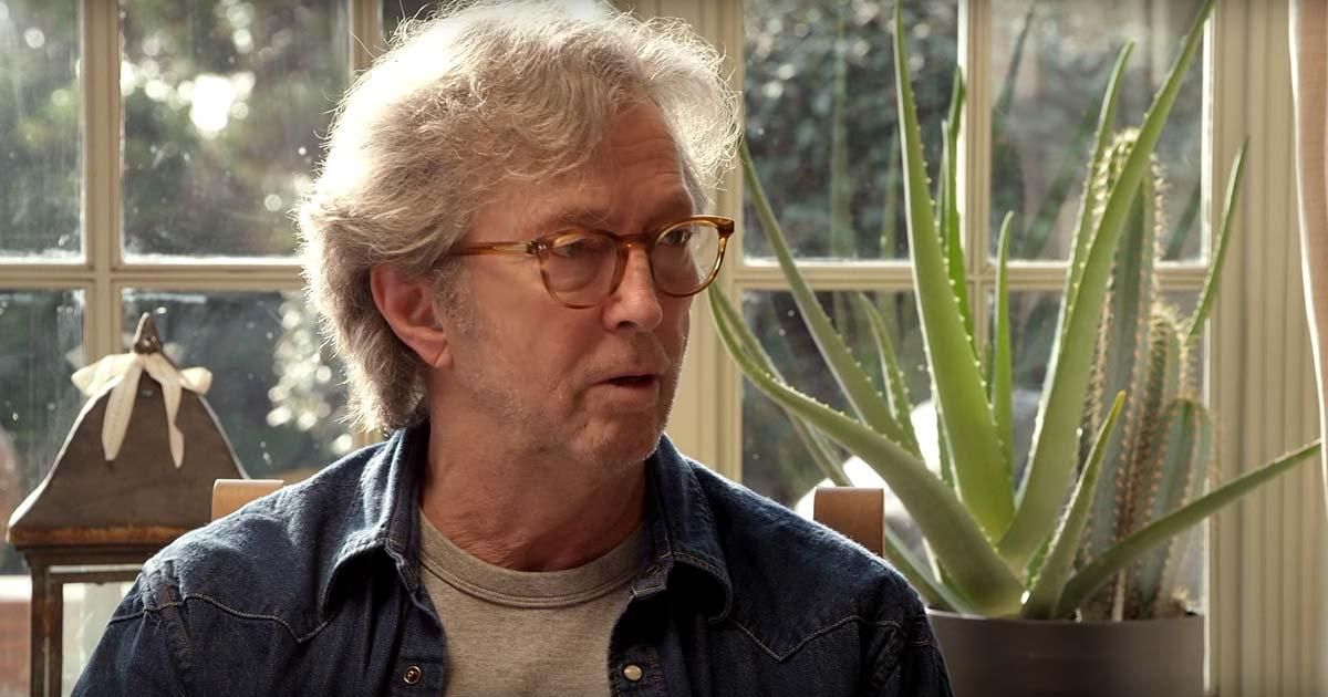 Eric Clapton habla sobre su nuevo disco, 'I still do'