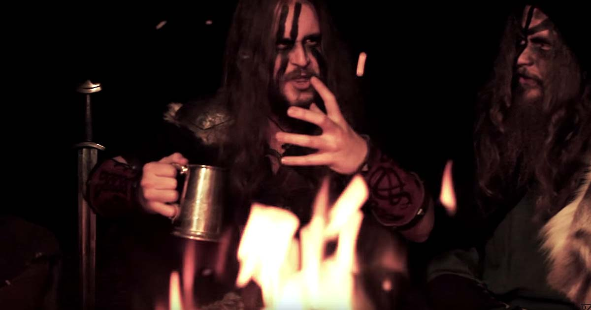 Grimner y el vídeo de 'Mörkrets Hem'