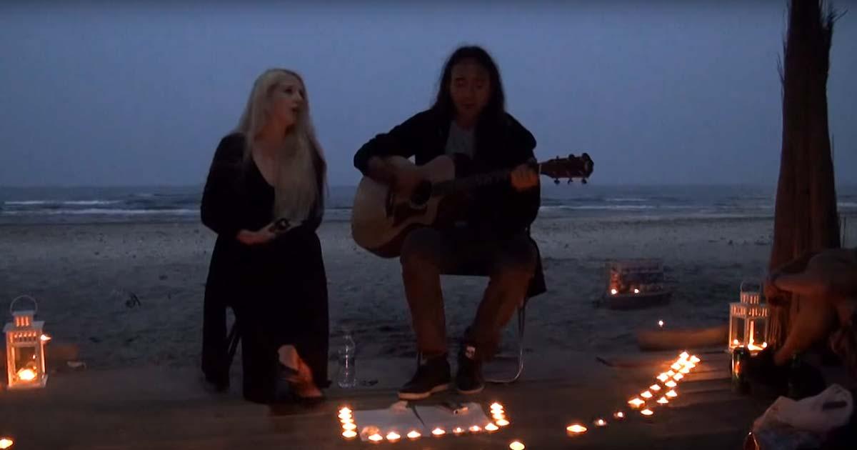 Neige y Sylvaine estrenan el vídeo de 'Machine Gun' en acústico