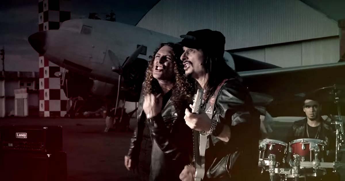 Angra y el vídeo de 'Synchronicity II'