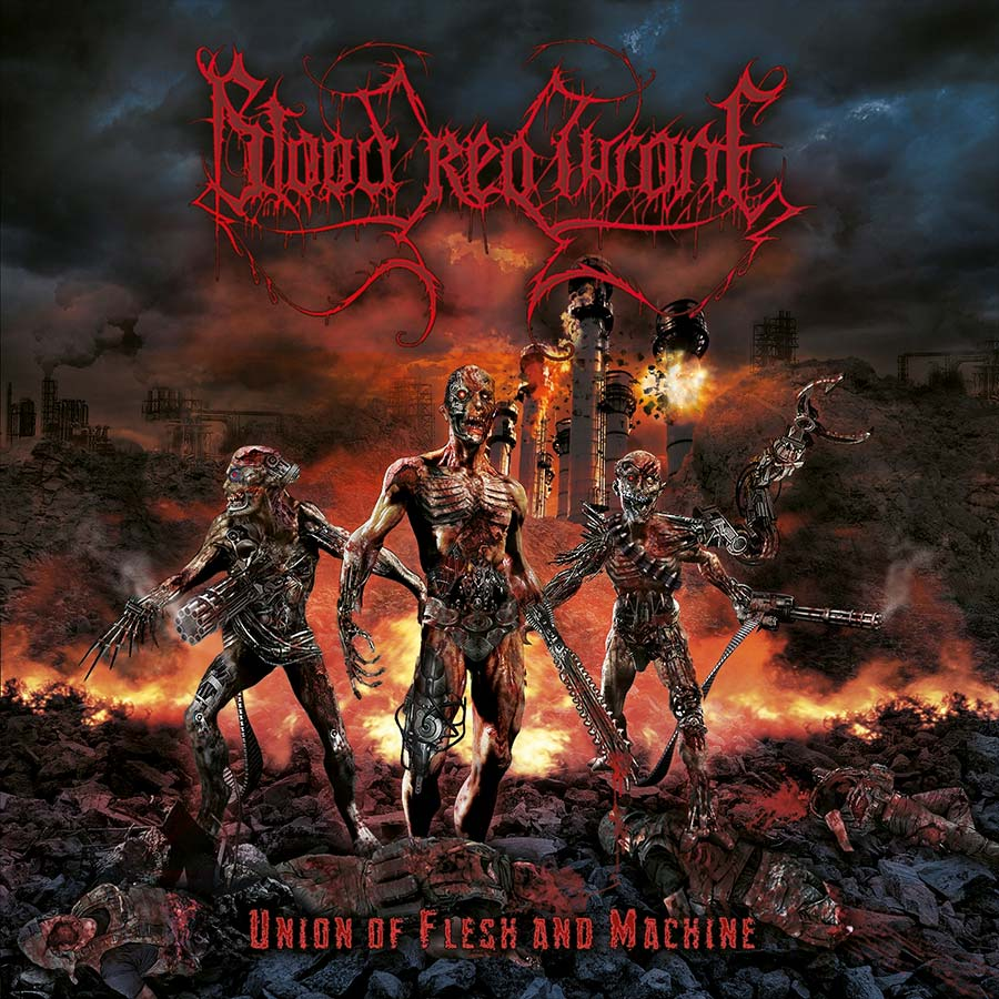 Blood Red Throne 'Union of Flesh and Machine'