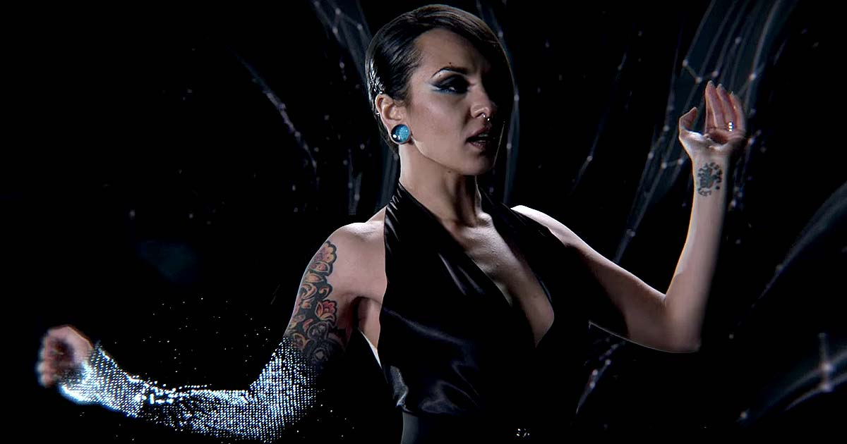 Jinjer y el vídeo de 'I Speak Astronomy'