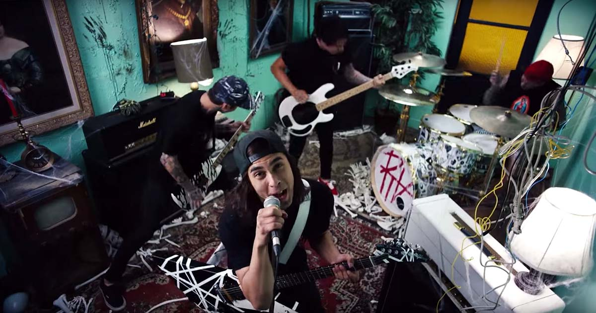 Pierce The Veil y el vídeo de 'Circles'