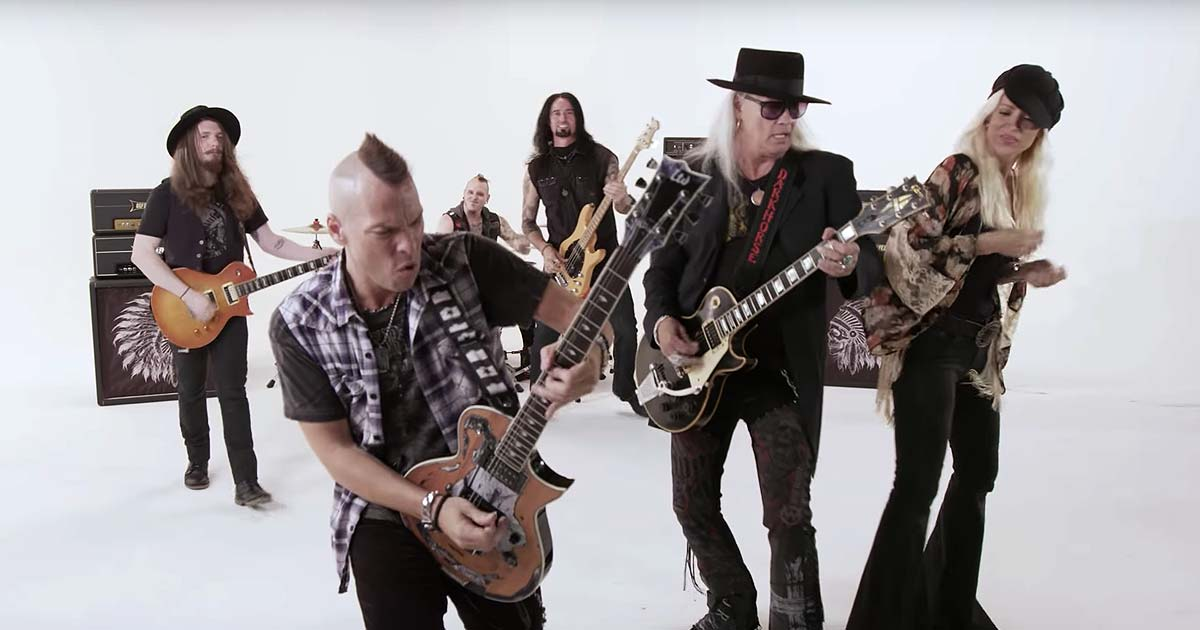 Blackfoot y el vídeo de 'Southern Native' con Rickey Medlocke