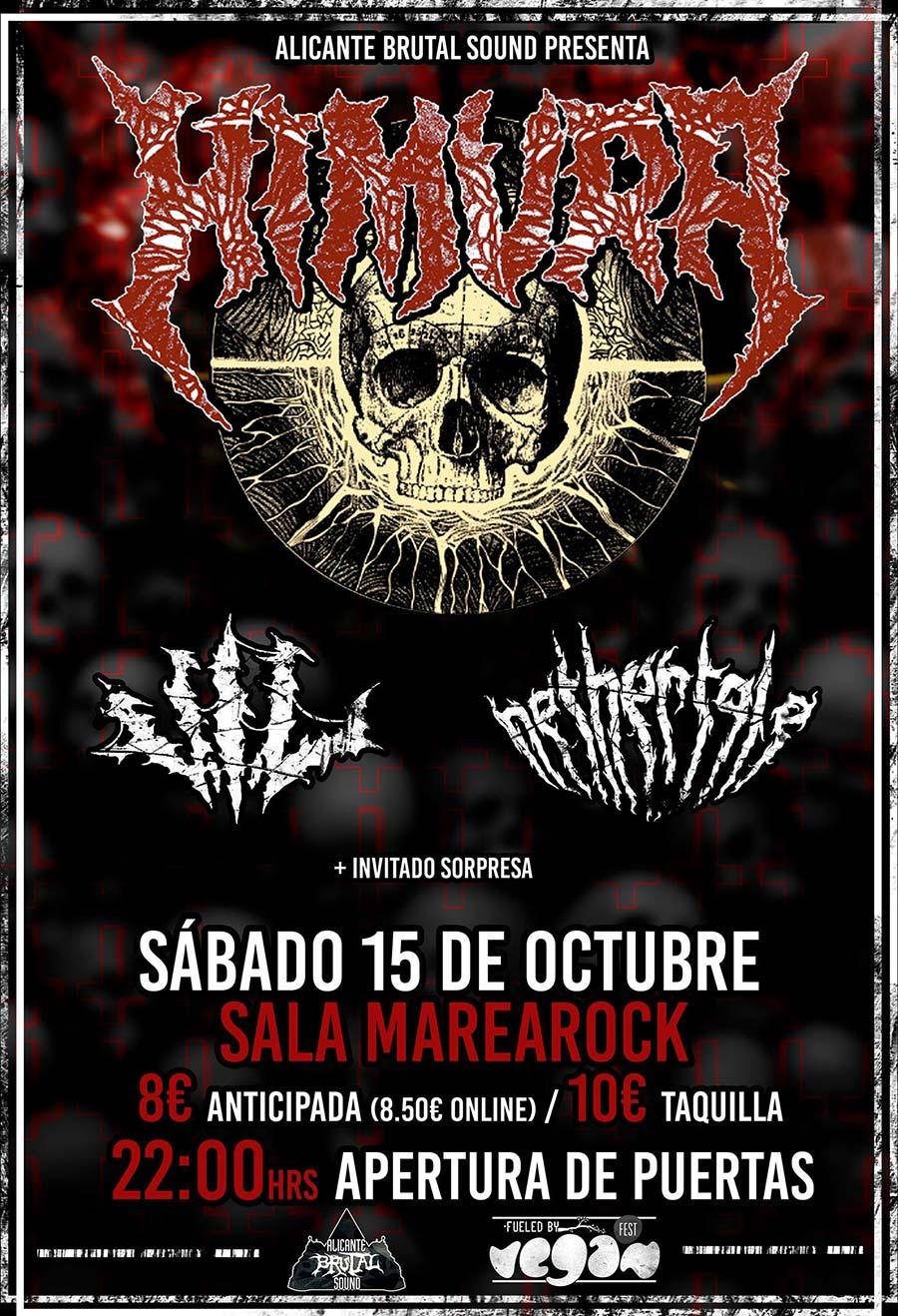 Himura, Nethertale y VIL en directo en Alicante en octubre
