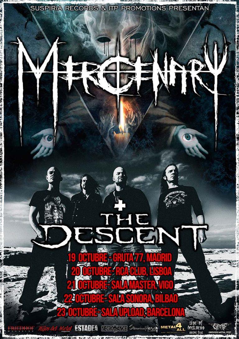 Fechas de Mercenary en octubre (Actualizado)
