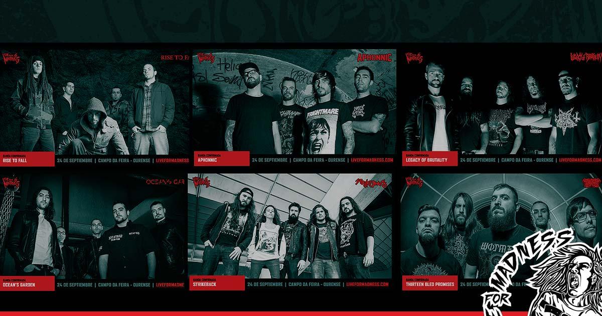 Entrevista con todos los grupos del Live For Madness Metal Fest 2016