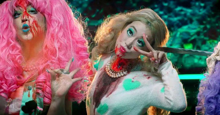 Giraffe Tongue Orchestra y el vídeo de 'Blood Moon'