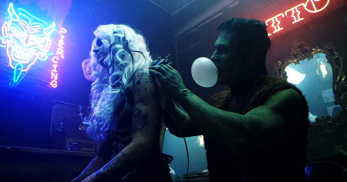 Rob Zombie y el vídeo de 'The Hideous Exhibitions Of A Dedicated Gore Whore'