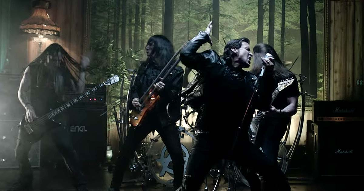 Art of Anarchy y el vídeo de 'The Madness'