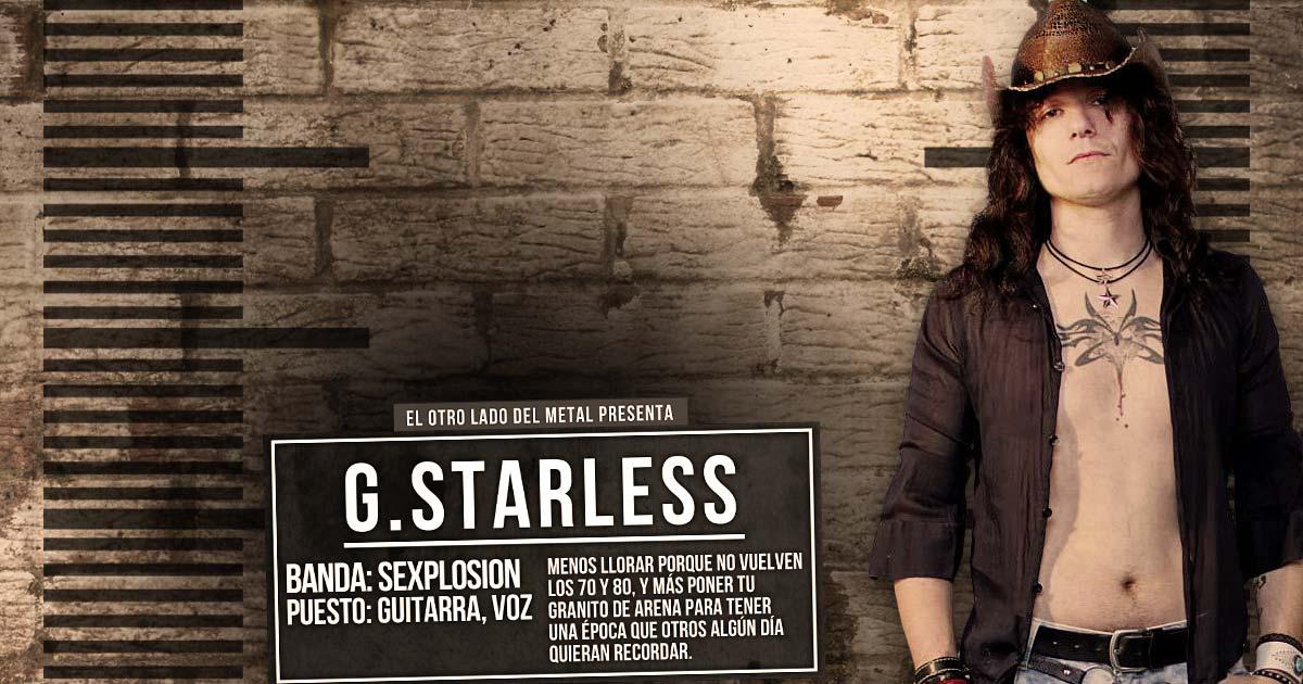 El otro lado del metal (LVI): Guillermo Starless