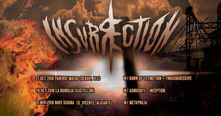Presentación en directo del nuevo LP de Insurrection