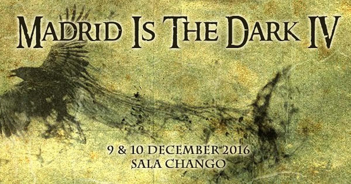 Se acerca una nueva edición del Madrid Is the Dark