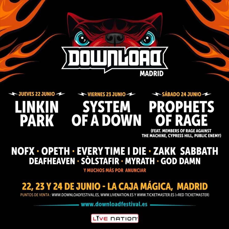 Download Madrid adelanta parte de su cartel