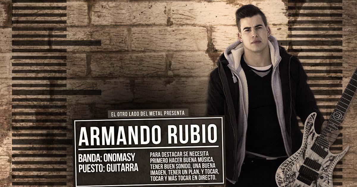 El otro lado del metal (LVII): Armando Rubio