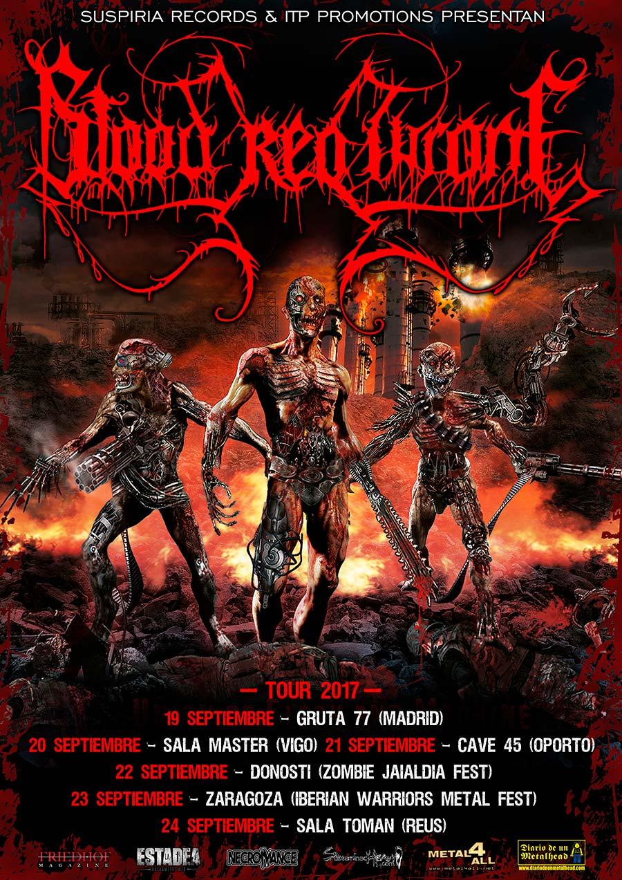 Fechas de Blood Red Throne en septiembre de 2017 (Actualizado)