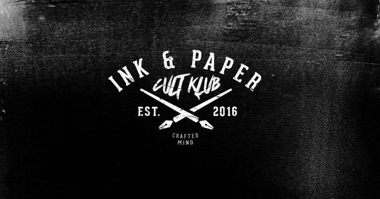 Inauguramos sección: Ink & Paper Cult Club