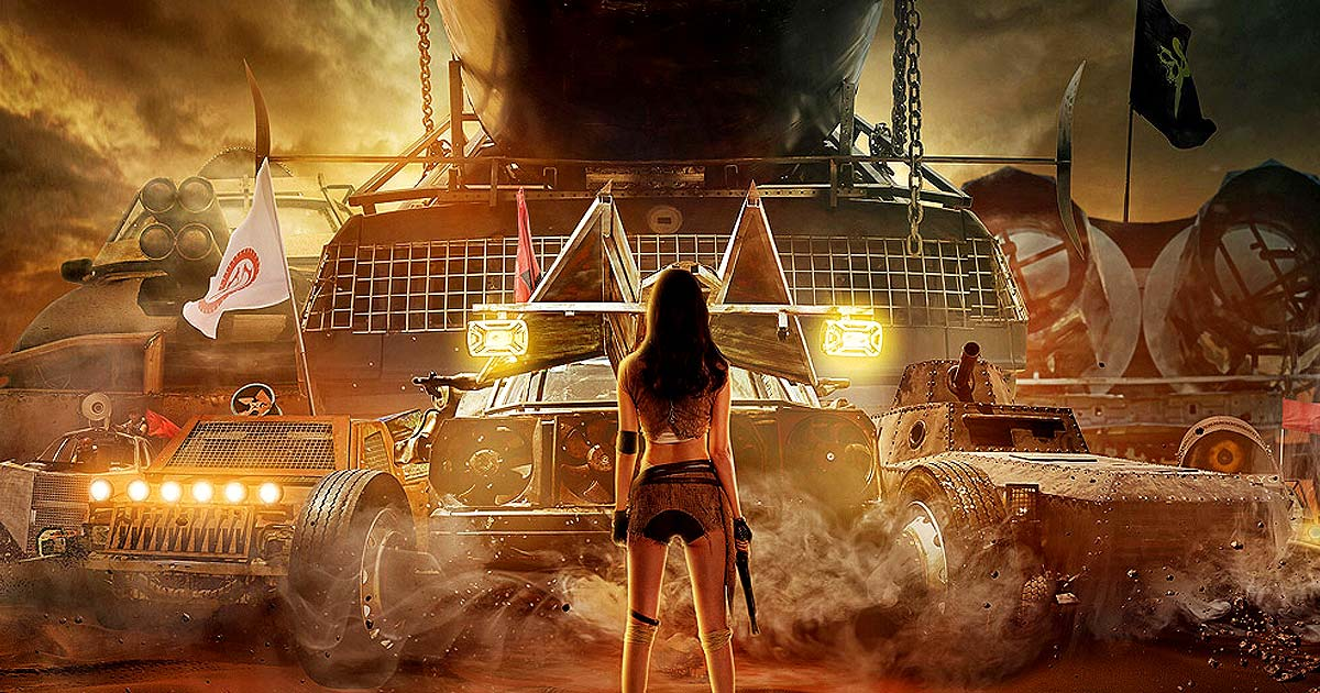 "Mad Max: Fury Road versión china, ""Mad Sheila"". El mundo se acaba"