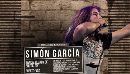 El otro lado del metal (L): Simón García