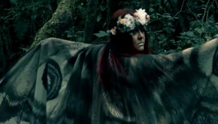 Alunah y el vídeo de 'Fire of Thornborough Henge'