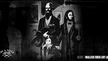 """Ink & Paper Cult Club (II): Malleus Rock Art Lab """"La inspiración principal procede de la música en sí misma"""""""
