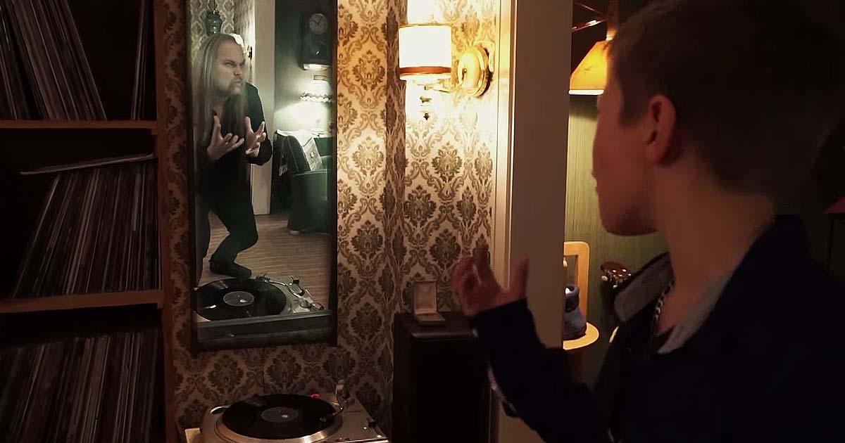 Jorn y el vídeo de 'Rainbow In The Dark'