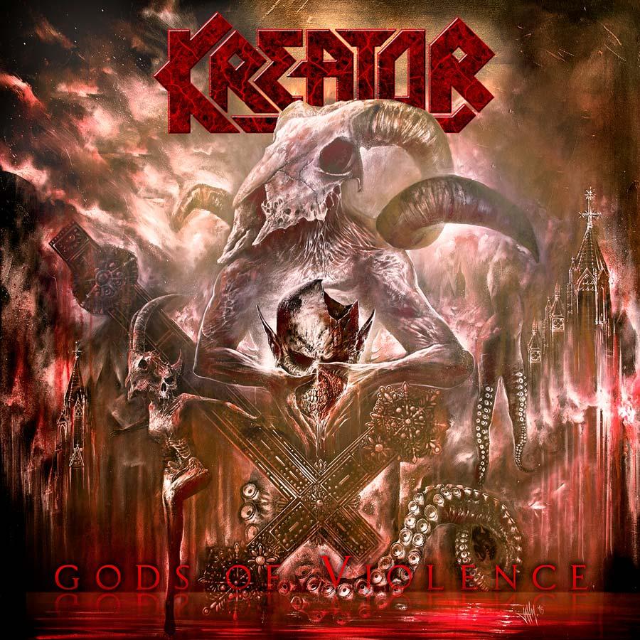 Kreator 'Gods of violence'