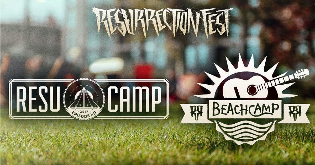 El Resurrection Fest abre la veda de su Resucamp y presenta el Beachcamp