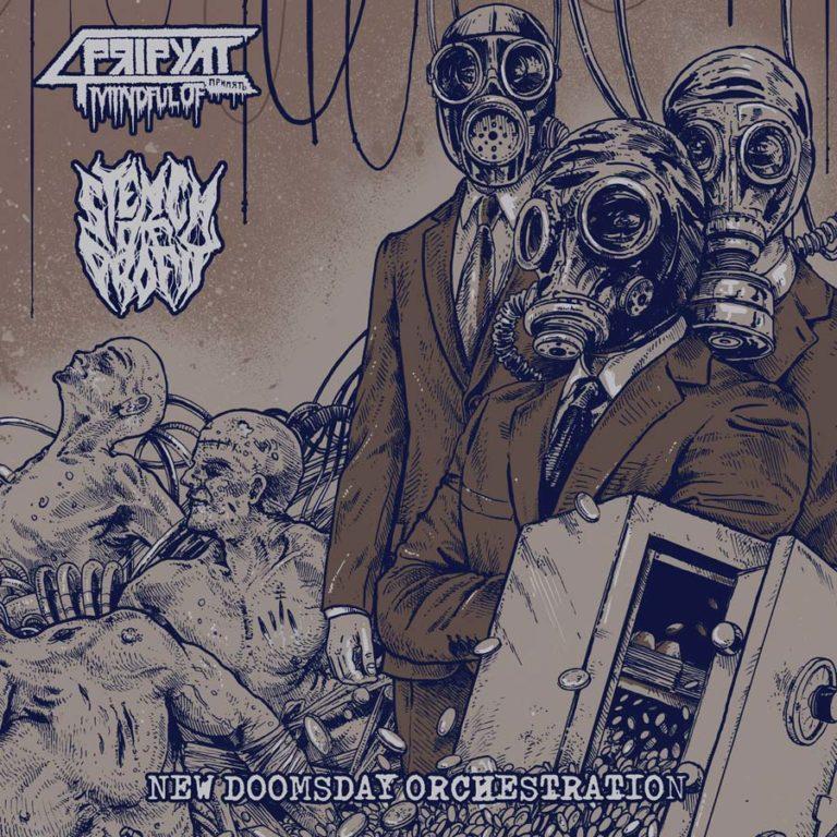Mindful of Pripyat / Stench of Profit 'New Doomsday Orchestration' (Split)