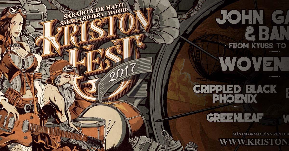 Horarios y últimos detalles del Kristonfest, 6 de mayo en Madrid
