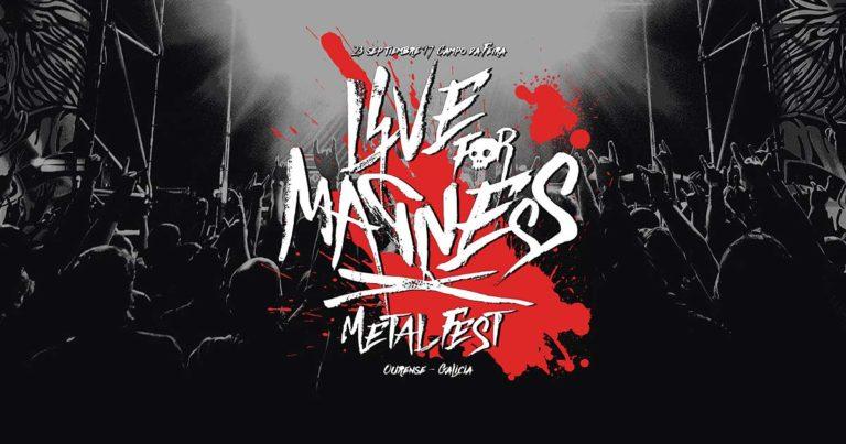 Cartel y detalles del VII Live For Madness Metal Fest