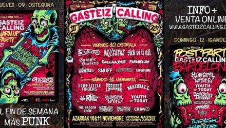Cartel y detalles del Gasteiz Calling