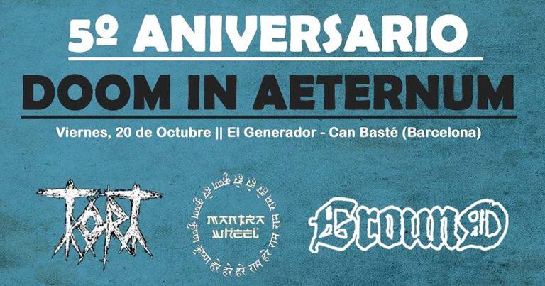 Fiesta quinto aniversario de Doom in Aeternum
