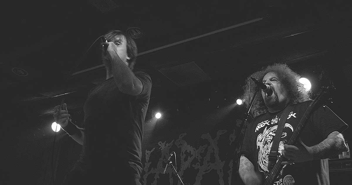 Napalm Death con Looking For An Answer y Deathrite en Valencia
