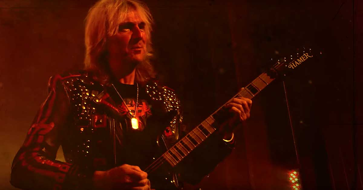 Judas Priest y el vídeo de 'Lightning Strike'