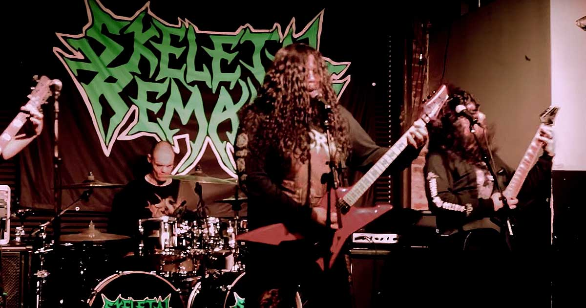 Skeletal Remains y el vídeo de 'Seismic Abyss'