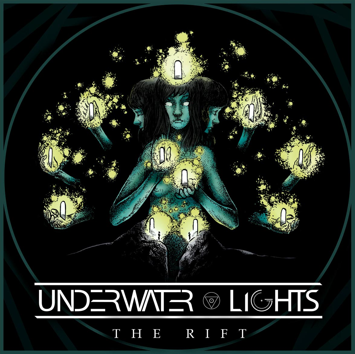 Underwater lights 'The Rift' (EP), hay cantera
