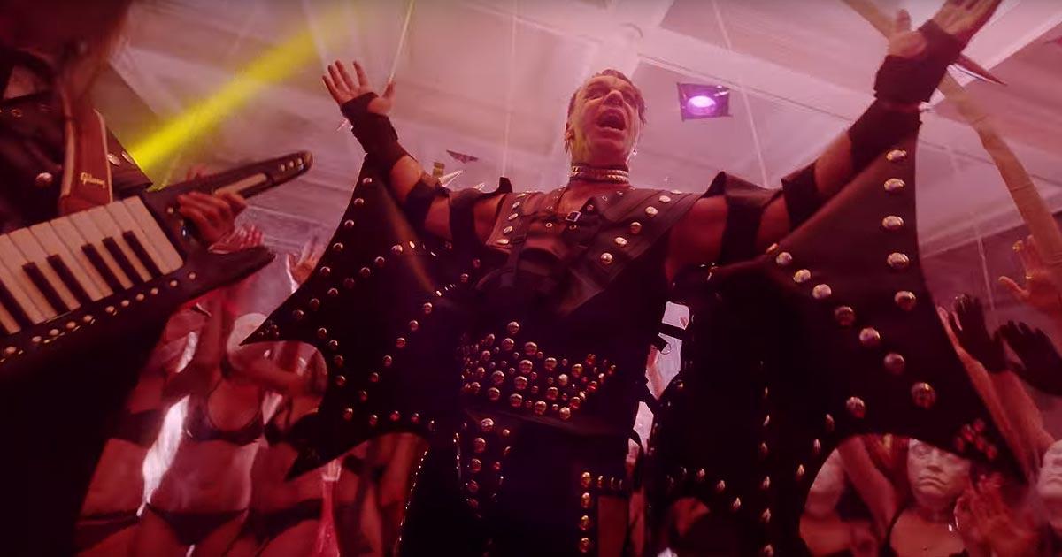 Lindemann estrenan el vídeo de 'Platz Eins' sin censura en Visit-X